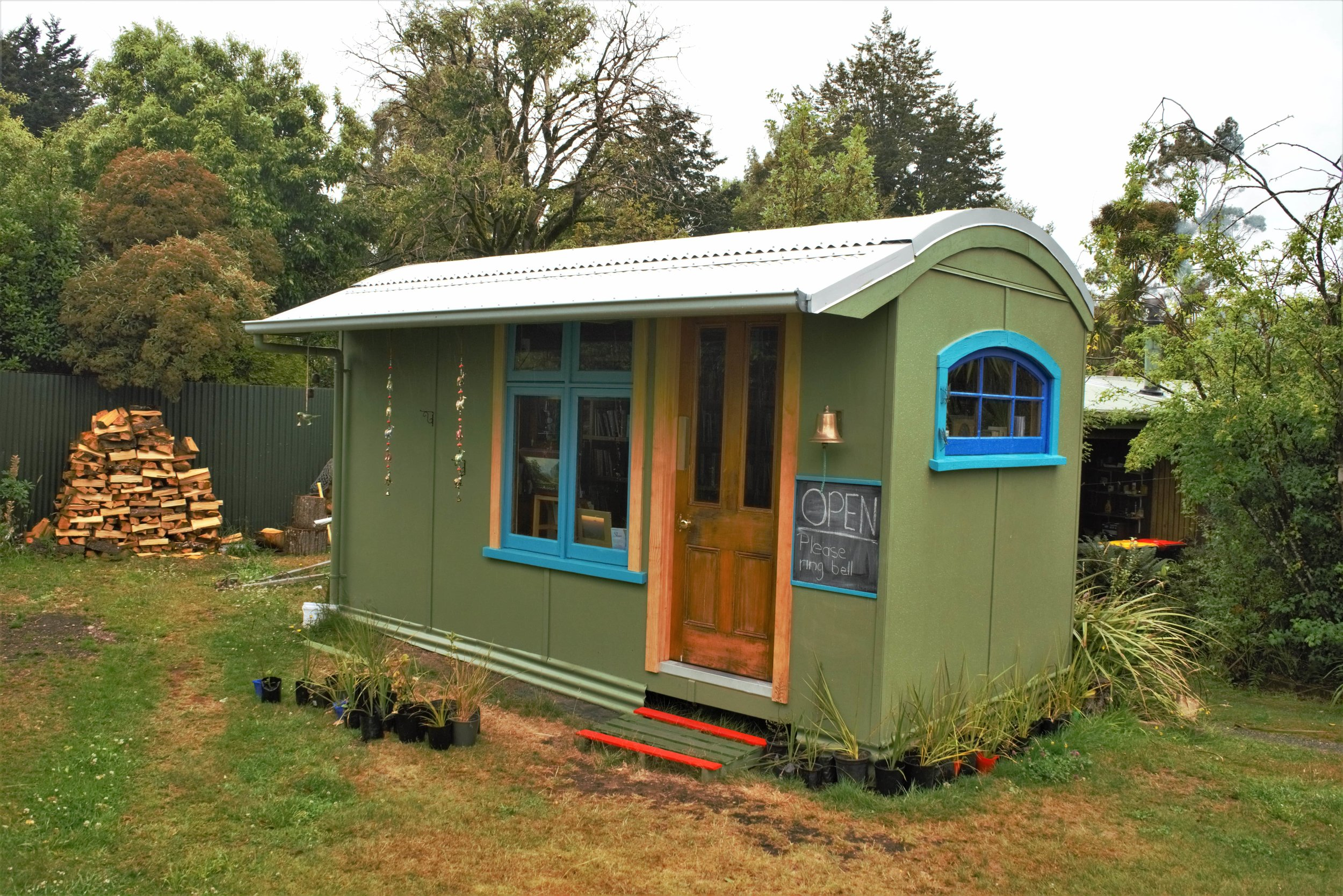 Tiny little shop on the side of the road, worth a stop. A Book Lover's Guide to the South Island, New Zealand