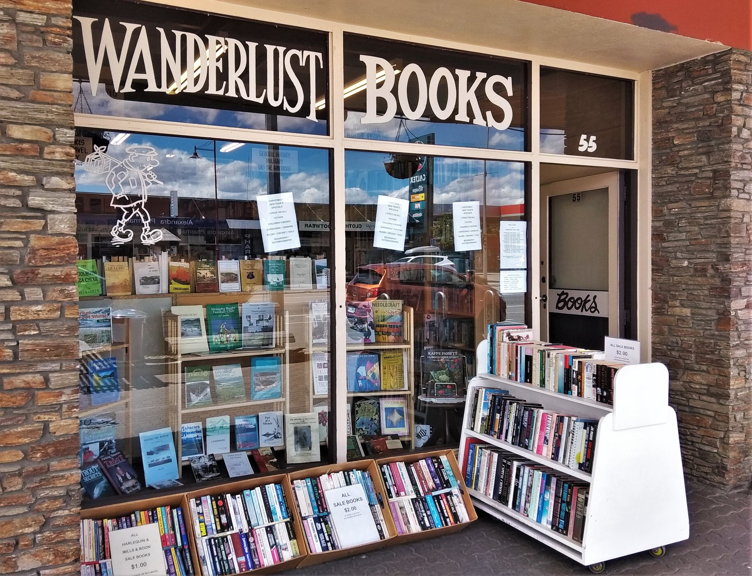 A Book Lover's Guide to the South Island, New Zealand.
