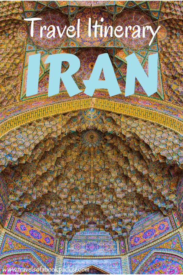 A guide to help you plan the perfect Iran itinerary. Options for one, two three and more weeks in Iran including recommended time in each place so you can build your perfect travel itinerary for Iran. #iran #travel #travelitinerary #traveltips #seeyouiniran #middleeast #persia