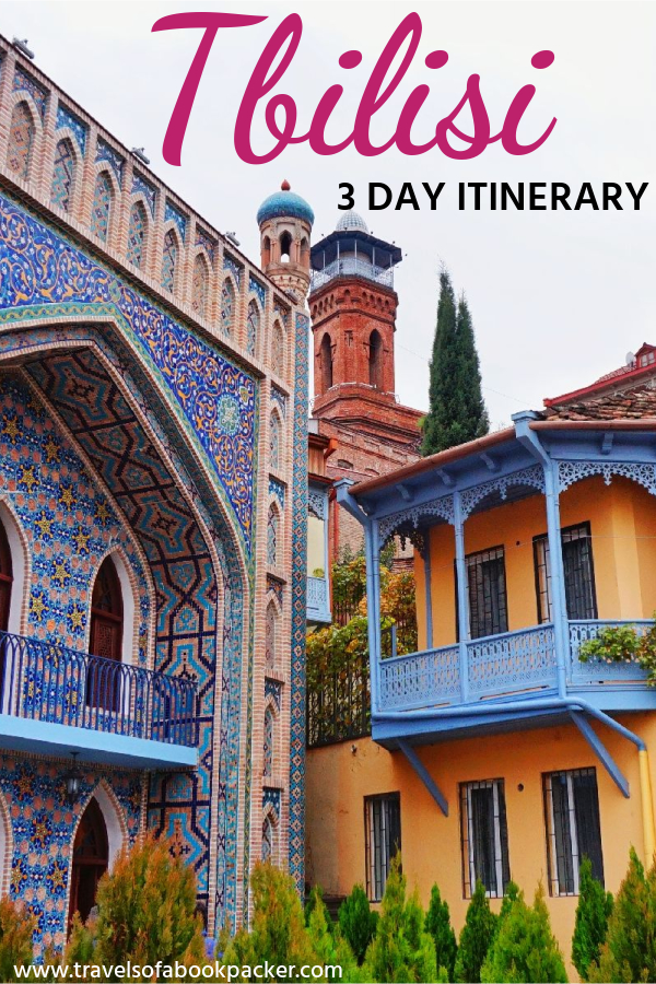 This detailed Tbilisi itinerary gives you a practical guide to seeing all the best spots during your three days in Tbilisi, Georgia. Includes cafe and restaurant recommendations. #travel #traveltips #tbilisi #georgia #itinerary #caucasus