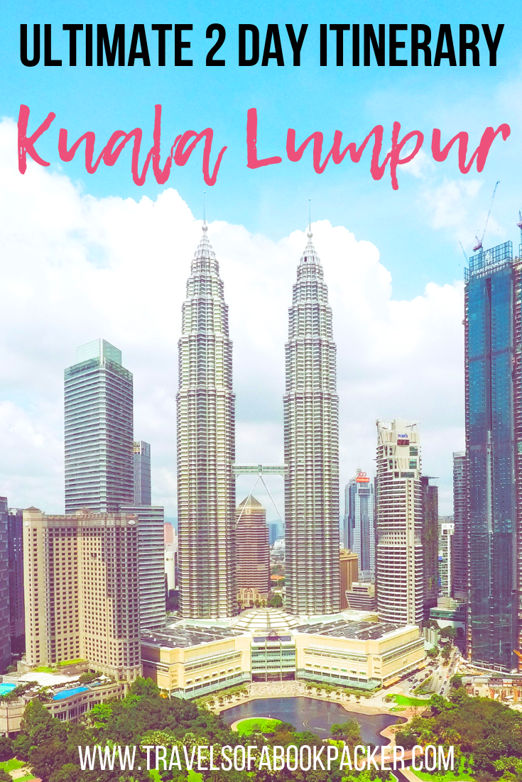 Read our detailed itinerary for 2 days in Kuala Lumpur. Includes details about where to stay in Kuala Lumpur with an infinity pool, best places to eat and things to do in Kuala Lumpur, Malaysia. #malaysia #kualalumpur #asiatravel #travel #petronastower #petronas #kl #twintowers #traveltipsforeveryone #traveltips