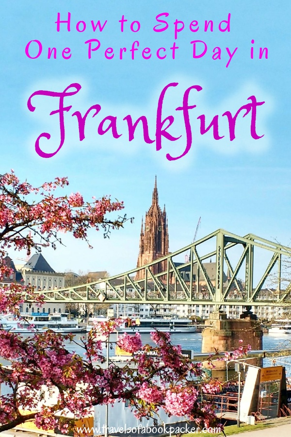This is a detailed itinerary for 24-hours in Frankfurt if you happen to have a layover or are stopping on your way through. One day in Frankfurt is enough to see lots of the city and do some cool things. #frankfurtammain #germany #frankfurt #travel #traveltips #layover #ffm #skyline #traveltipsforeveryone