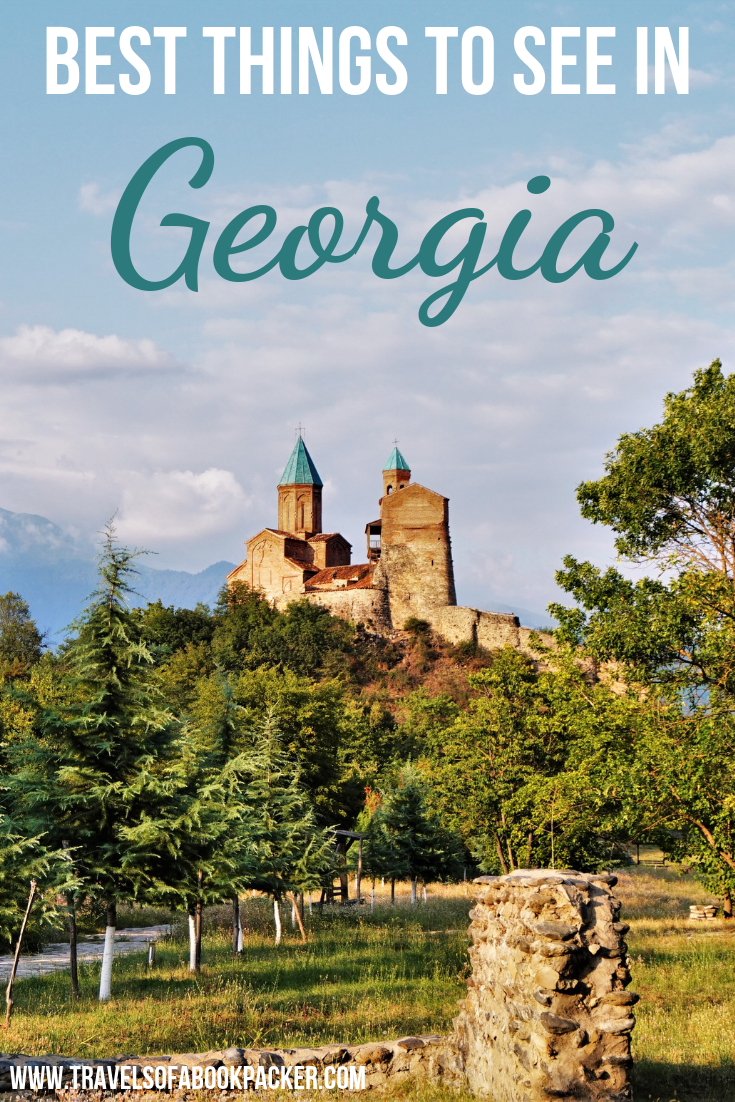 Read about why Georgia will be the next big travel destination! Here is a list of incredible things to do in Georgia (country) to inspire your trip. From impressive attractions to delicious food and quirky local experiences. #georgia #caucasus #georgiatravel #visitgeorgia #amazingthingstodoingeorgia #bestthingstodoingeorgia #bestthingstoseeingeorgia #bestthingsgeorgia #tbilisi #batumi #kutaisi #kazbegi