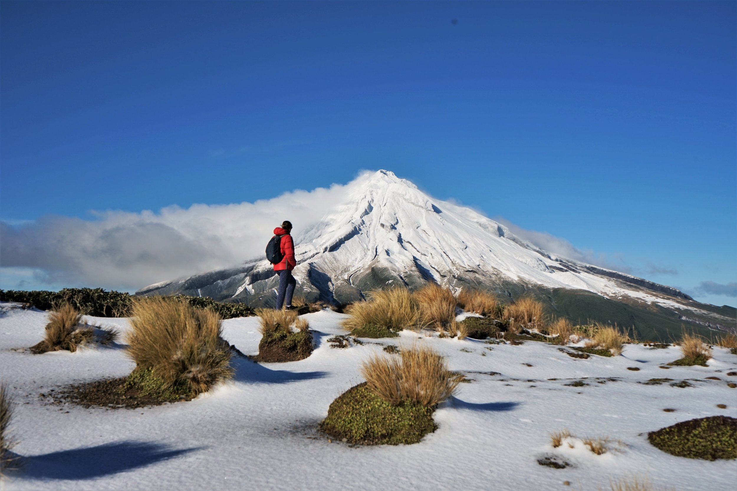 Hiking around the impressive mount Taranaki is one of the best things to do in New Plymouth.