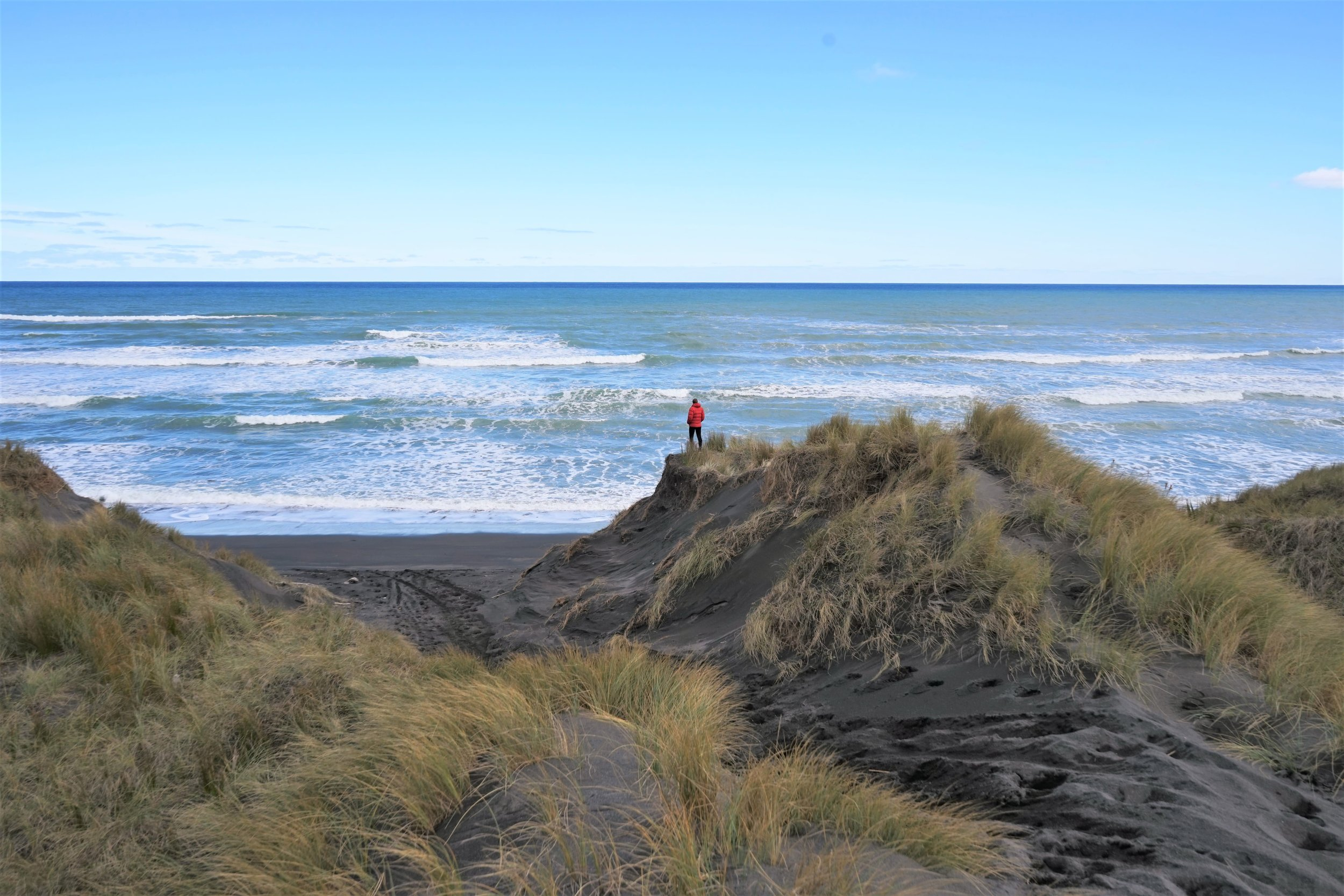 Coming towards or from New Plymouth via the surf highway 45 is one of the best ways to start your New Plymouth adventure