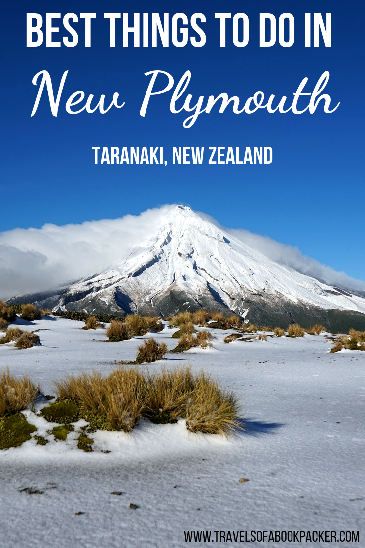 A complete guide to all the best things to do in New Plymouth. Information about all the best sights to see in the city and some unique New Zealand nature to explore in the Taranaki region. Including cafe and accommodation recommendations in New Plymouth! #newzealand #newplymouth #taranaki #travel #traveltips #hiking #pouakai #pouakaitrek #pouakaicrossing