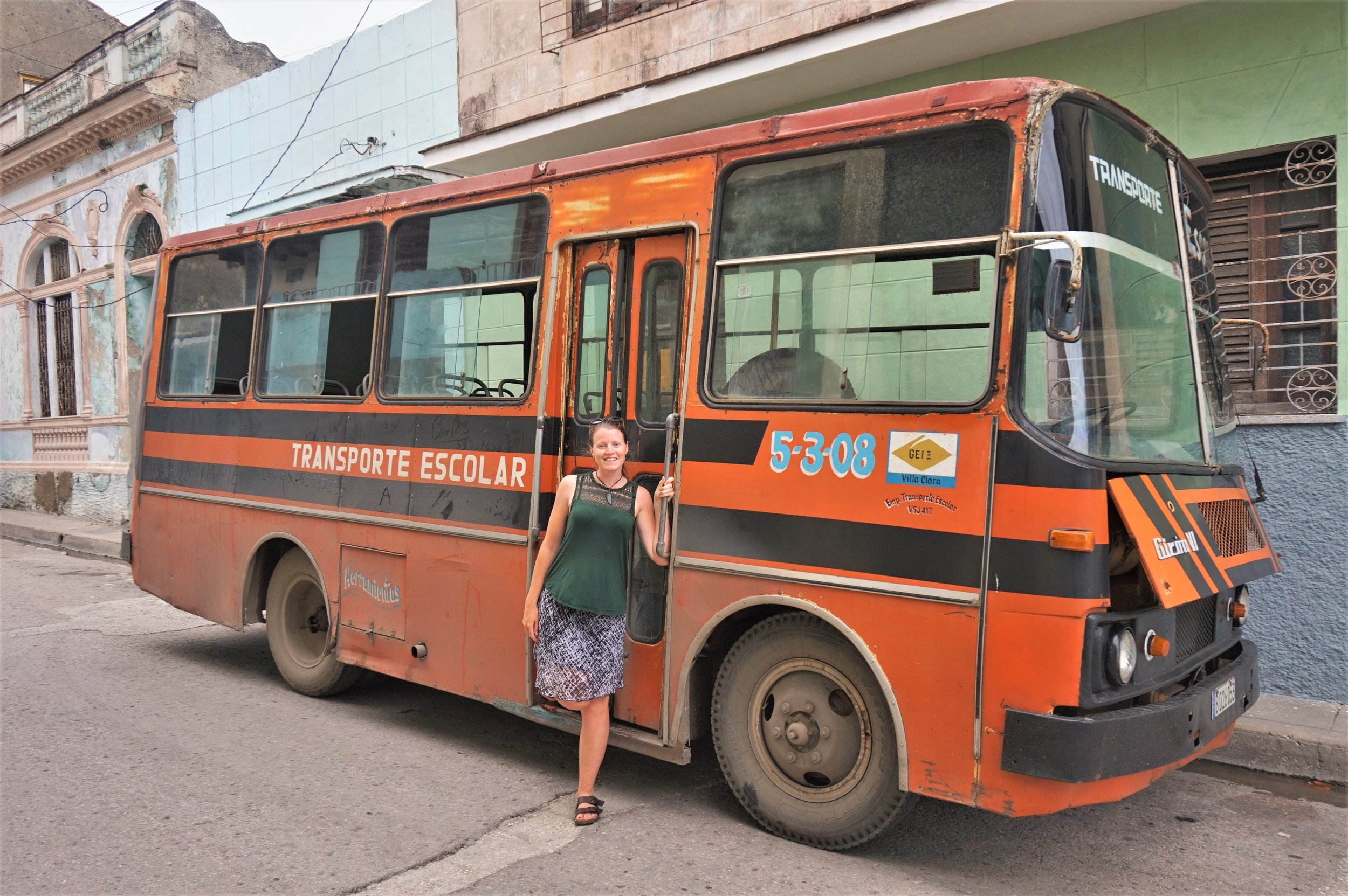 Shared taxis and buses will be your choice of transport when backpacking in Cuba on a budget.