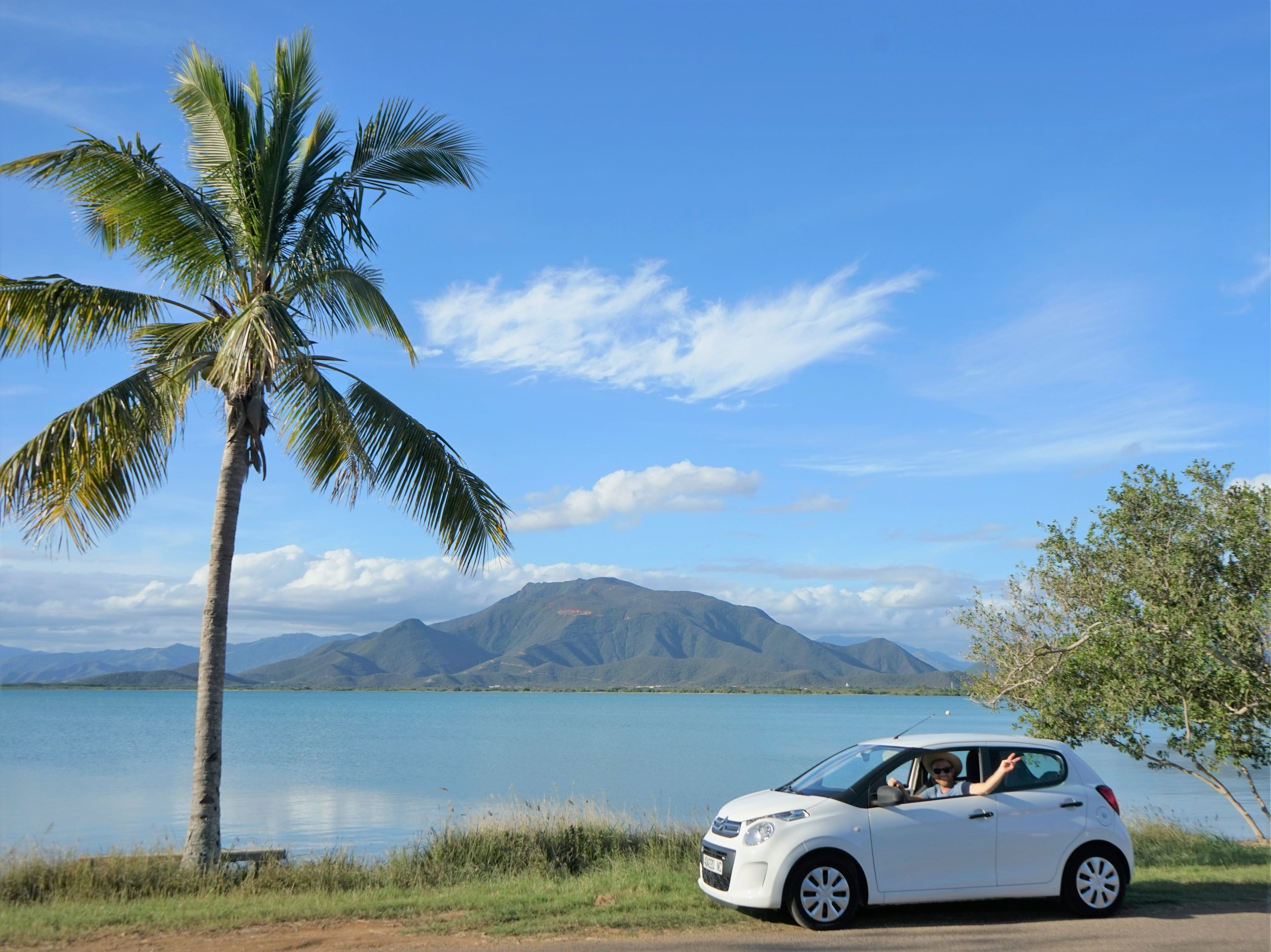 Renting a car for a New Caledonia road trip is one of the best things to do in New Caledonia and one of our most important New Caledonia travel tips.