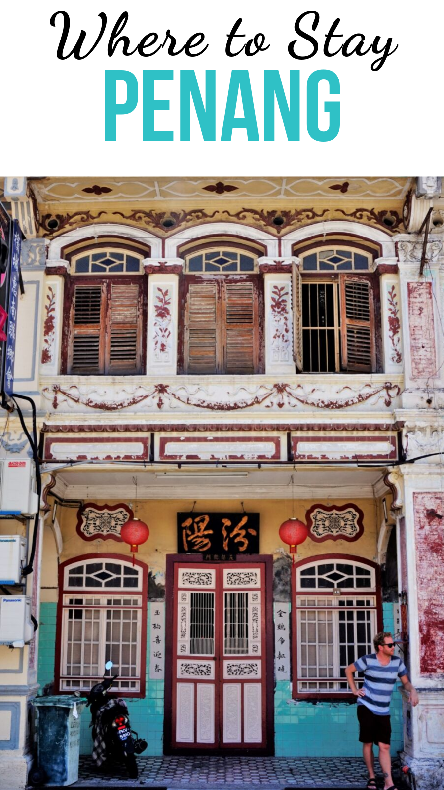 An overview of the best areas to stay in Penang and information about the best hostels in Penang and best hotels in Penang, Malaysia. #penang #malaysia #georgetown #travel #asia #southeastasia #streetart #hotelpenang #hostelpenang #accommodation #hotel #hostel #accommodationpenang #wheretostayinpenang #travel #besthostels #besthotels #explorepenang #traveltips #traveltipsforeveryone #travelguide #backpacking