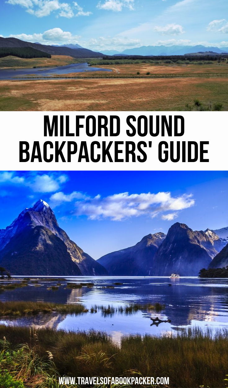Your complete Milford Sound backpackers guide with everything you need to know about seeing Milford Sound on a budget. Including things to see on the way and the best cruise s in Milford Sound. #newzealand #nz #milford #milfordsound #travel #traveltips #southisland #worldwonders #cruise #milfordsoundcruise #travelguide #guide #nature #naturalwonder