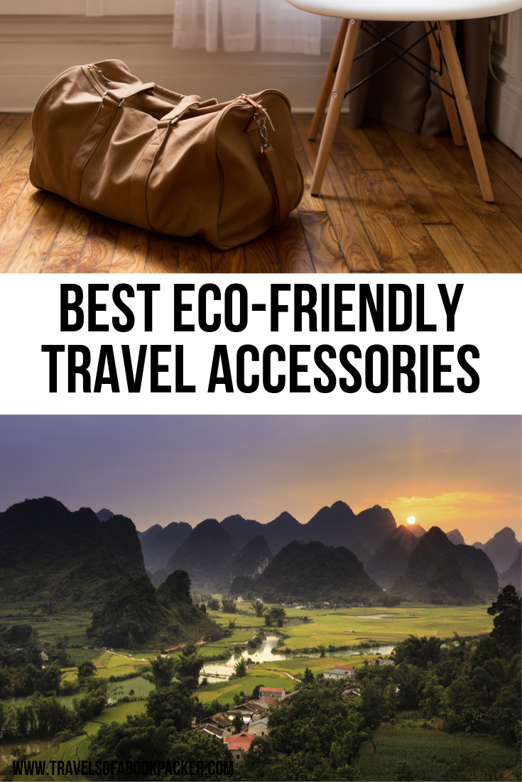 Do you want to reduce your impact on the planet even while you travel? Read about these little eco-friendly travel accessories to help you be more environmentally friendly. Travel green! #ecofriendly #ecofriendlyproducts #savetheplanet #ecofriendlytravel #travelgear #travelgadgets #environmentallyfriendly #travelgreen #travelaccessories #accessories #products #greenproducts #gogreen #sustainabletravel #travel #traveltips #traveladvice