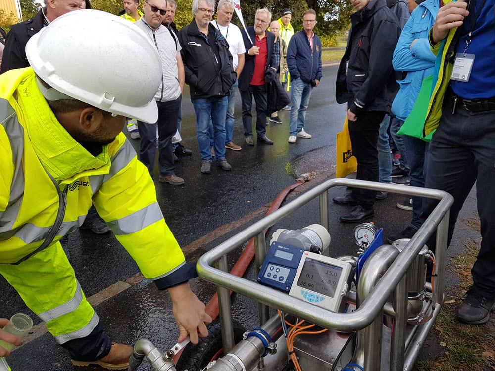 Pollex ispiggning ice-pigging vatten järn mangan 06.jpg