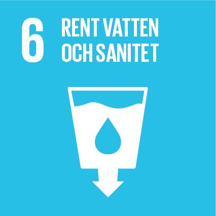 Mål 6 - Säkerställa tillgången till och en hållbar förvaltning av vatten och sanitet för alla.