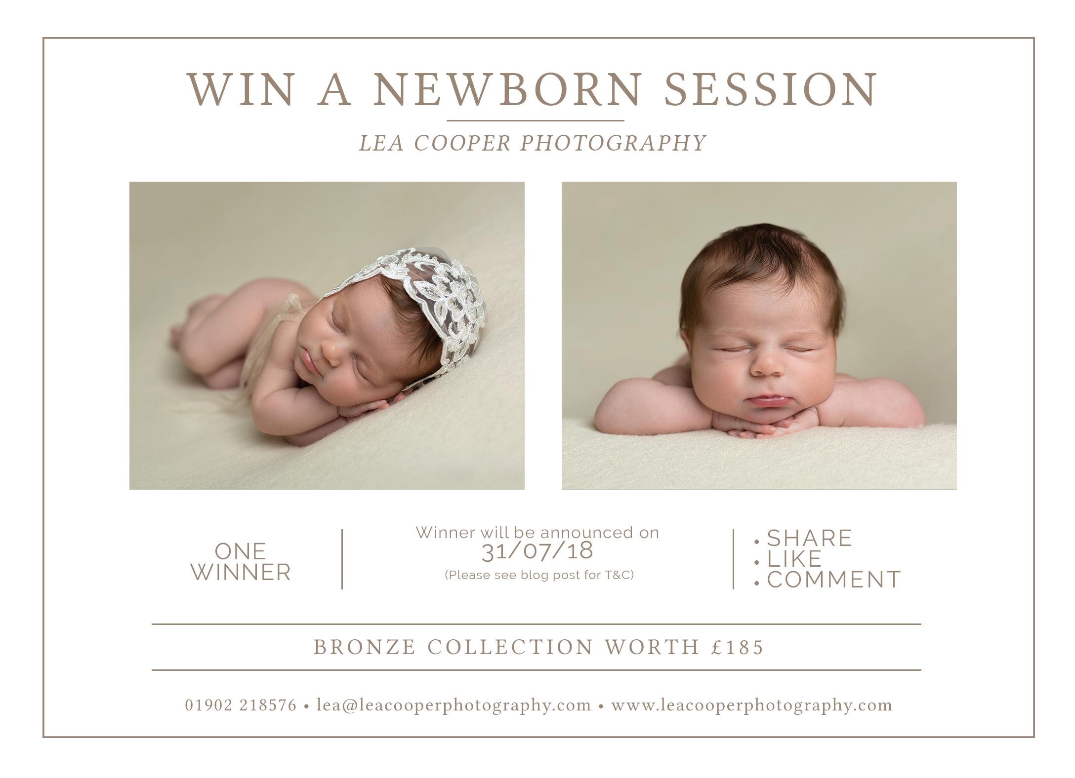 win a free newborn session