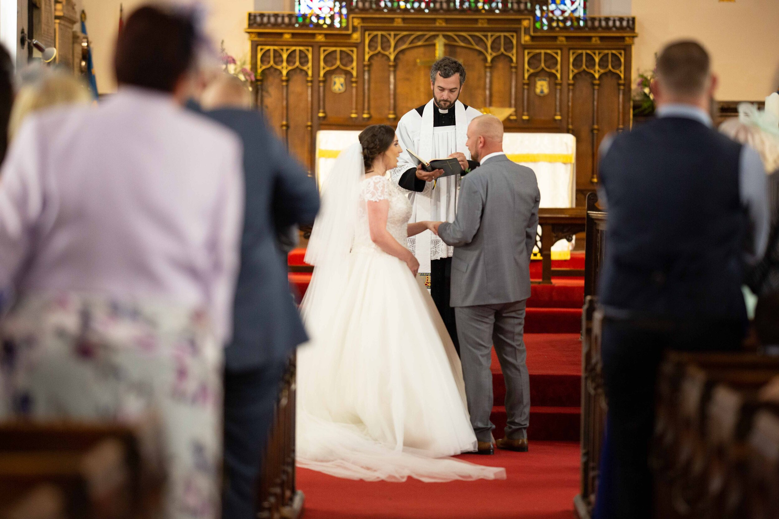 Lea Cooper photography - wedding photography - st Lawrence church dalaston West Midlands Willenhall Wednesday wedding photographer Brookfields club house cannock road - 22.JPG