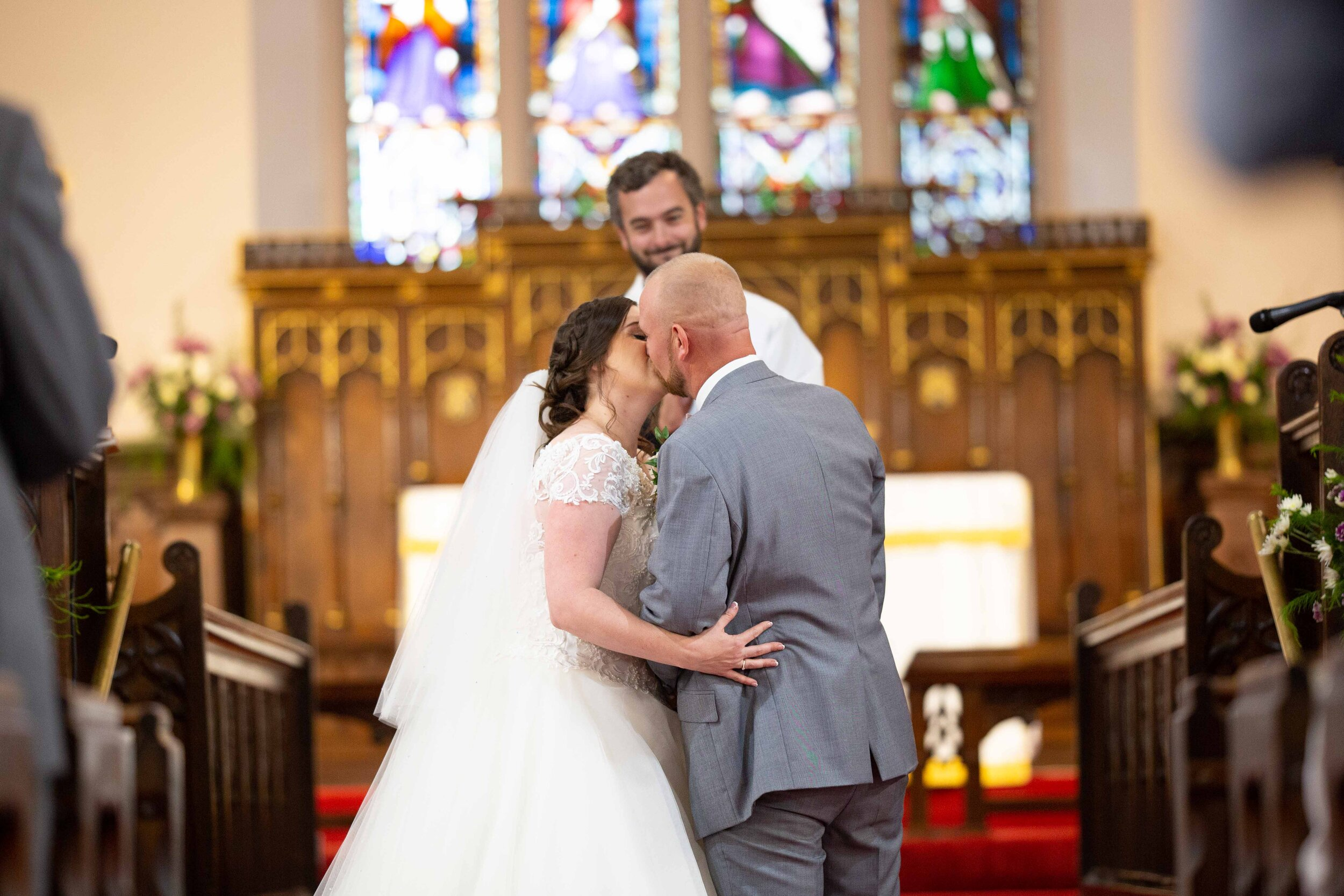 Lea Cooper photography - wedding photography - st Lawrence church dalaston West Midlands Willenhall Wednesday wedding photographer Brookfields club house cannock road - 23.JPG