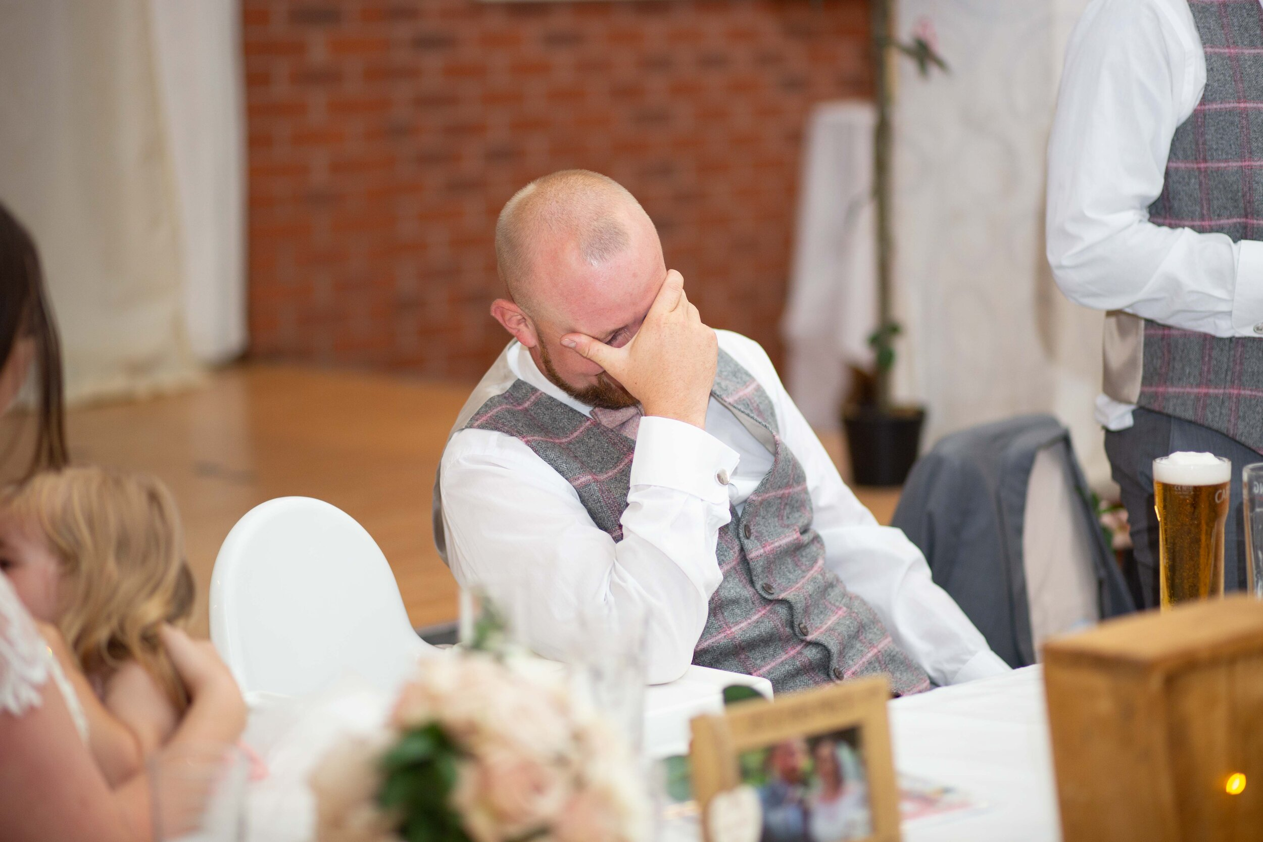 Lea Cooper photography - wedding photography - st Lawrence church dalaston West Midlands Willenhall Wednesday wedding photographer Brookfields club house cannock road - 29.JPG