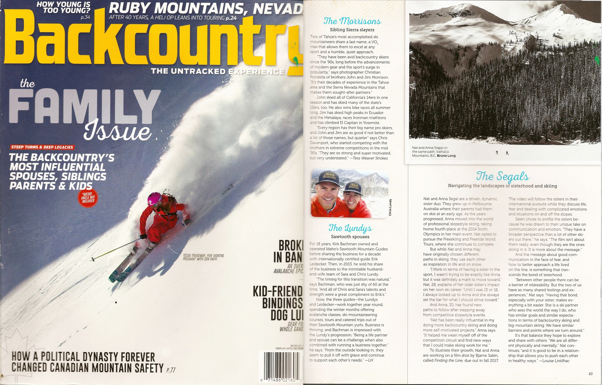 2017 - Backcountry Mag, US