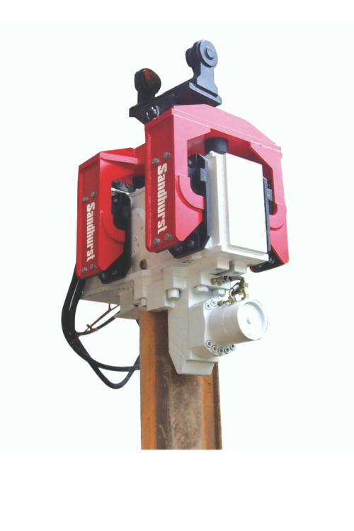 Pile driver or piling hammer (EMV) — Sandhurst | Hydraulic Excavator