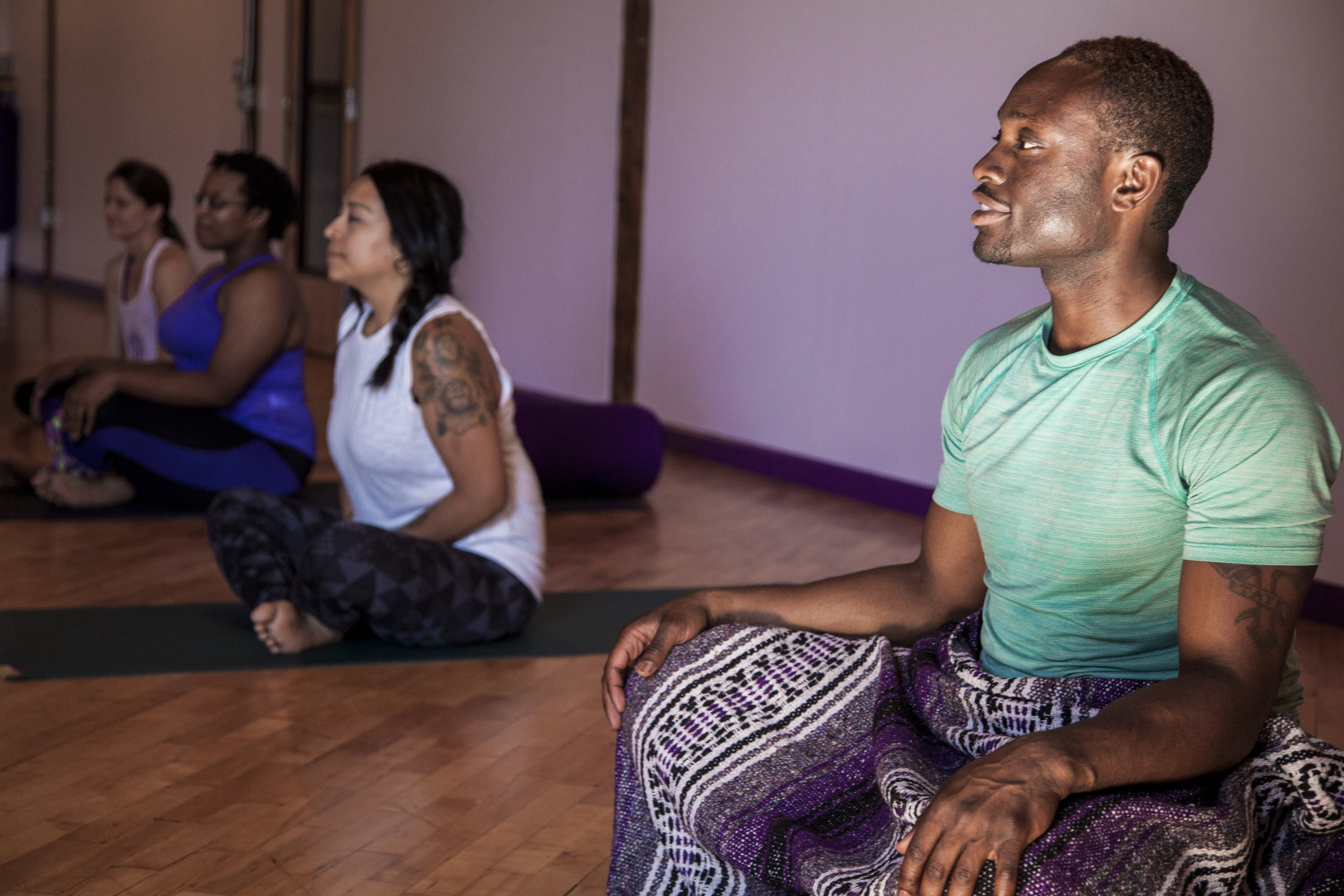 - Femi is now teaching yoga and meditation classes on the island of Martha's Vineyard for the summer of 2017. Sign up or find and event near you.