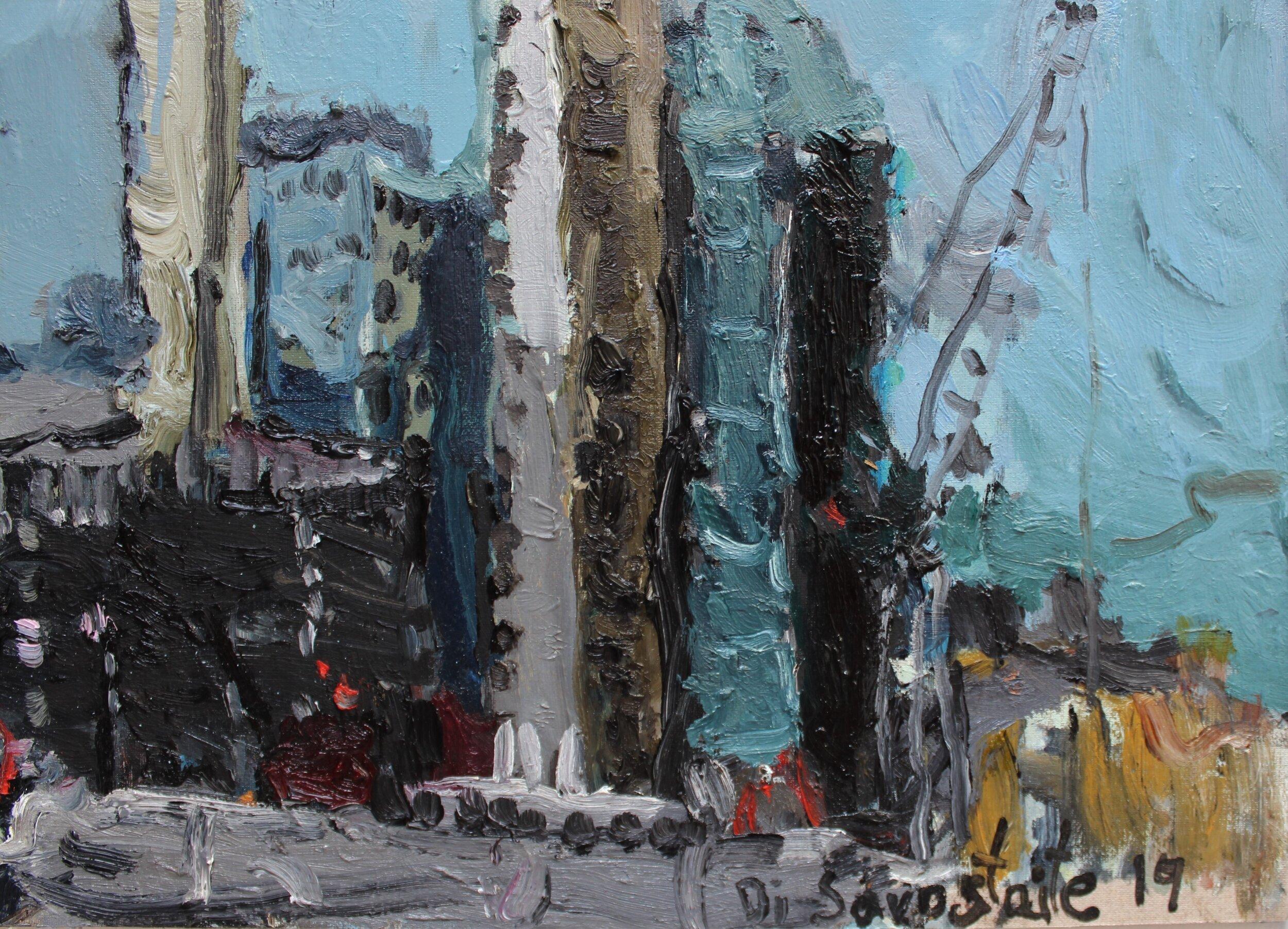 Construction Works in Woolwich, 50 x 40 cm 2019 (12).JPG