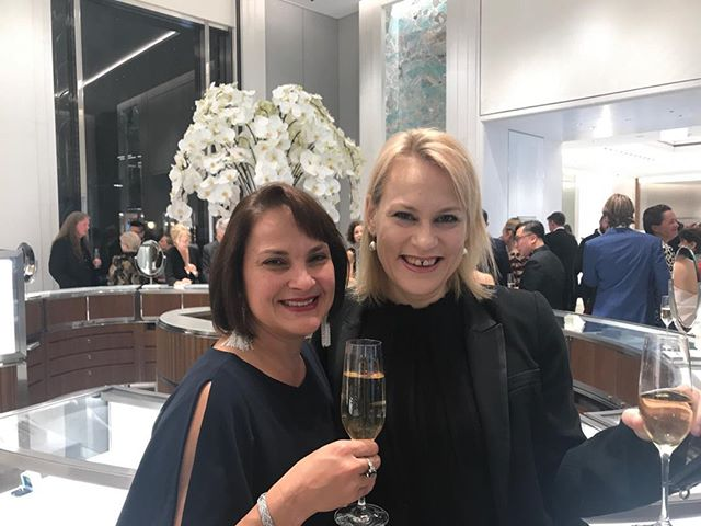A wonderful night with our friends and clients @tiffanyandco here in Sydney. Thank you Rose Guerin for inviting the team at Yellosocial.