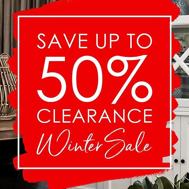 Our wonderful client La Maison are having their Winter Sale Clearance. Be quick and have fun!