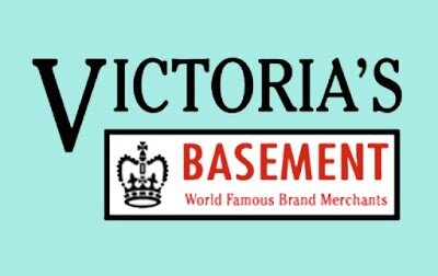 victoria's basement - World famous brands at basement prices