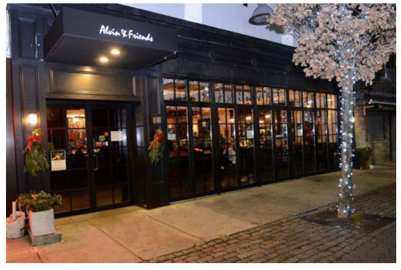 Alvin & Friends is located at 14 Memorial Hwy, New Rochelle, NY 10804.  www.alvinandfriendsrestaurant.com