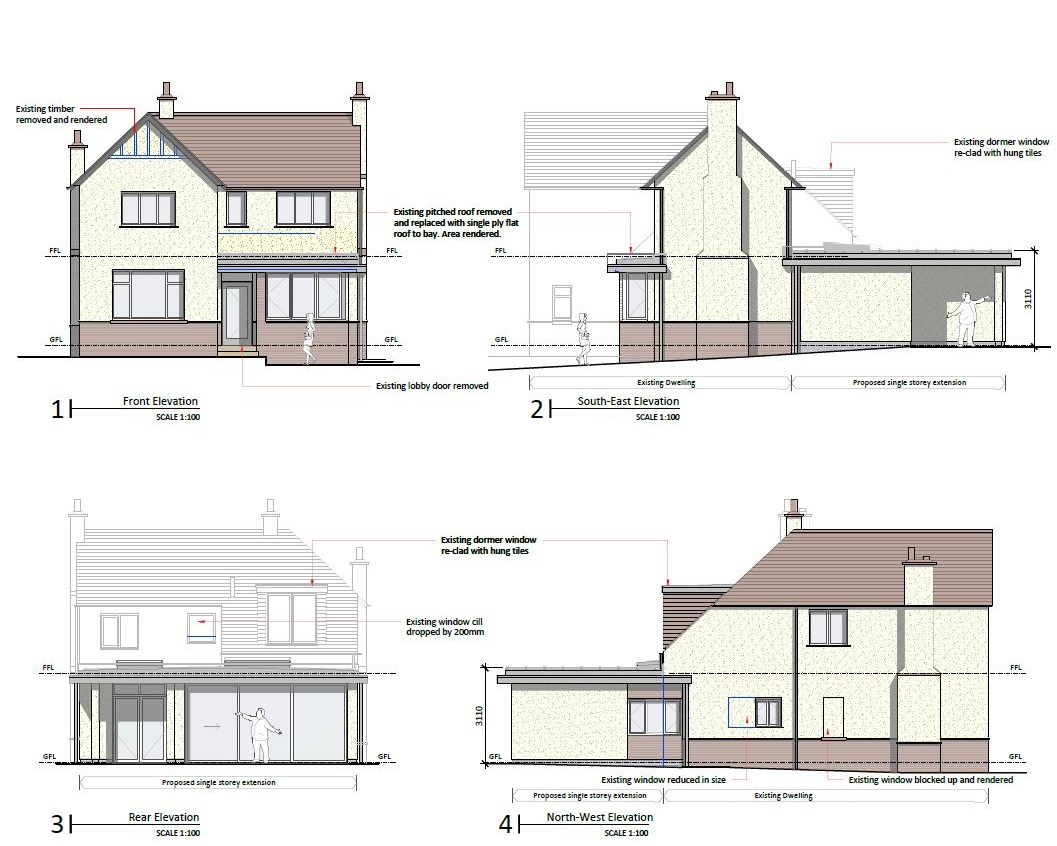 Planning Permission - Submit applications, negotiate with the Local Planning Authority and advise on Permitted Development guidelines, Conservation Areas and Listed Buildings.