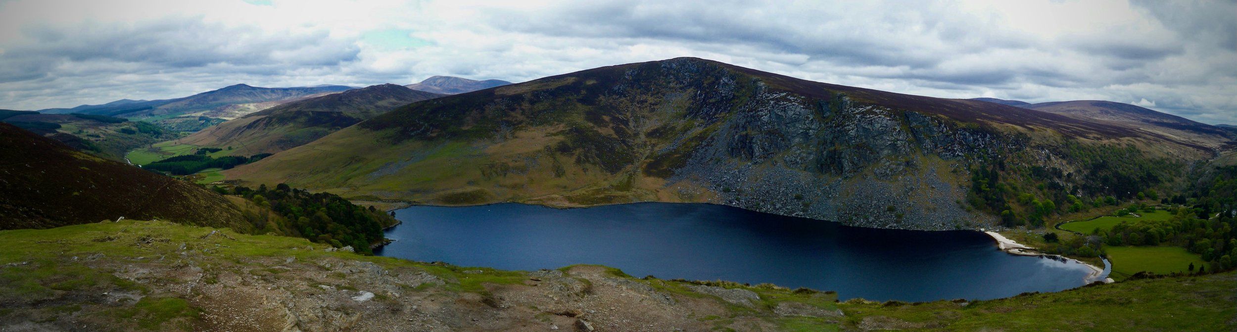 Guinness Lake (Lough Tay) ~ Wicklow Mountains, Ireland