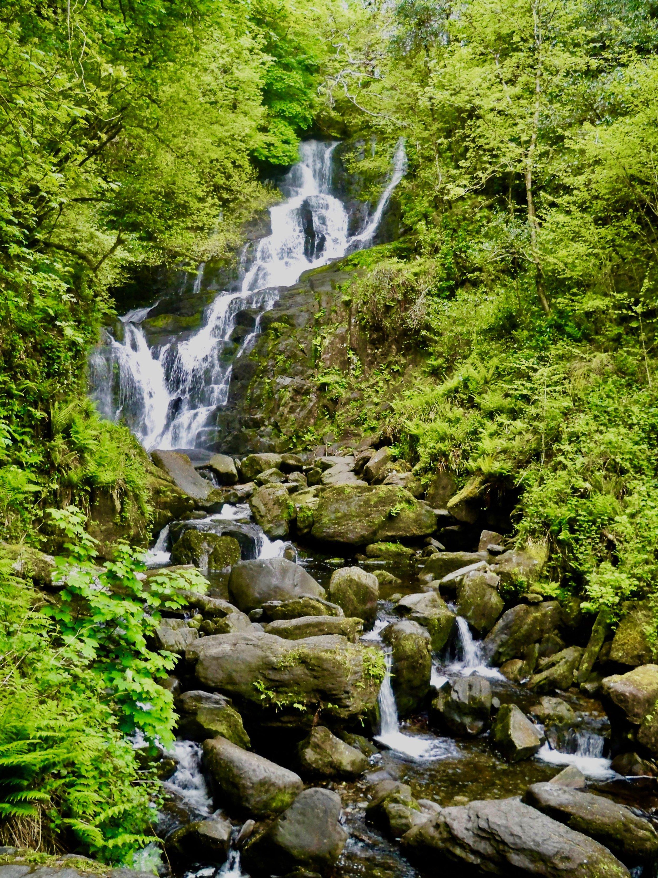 Torc Waterfall, Killarney National Park ~ Ireland