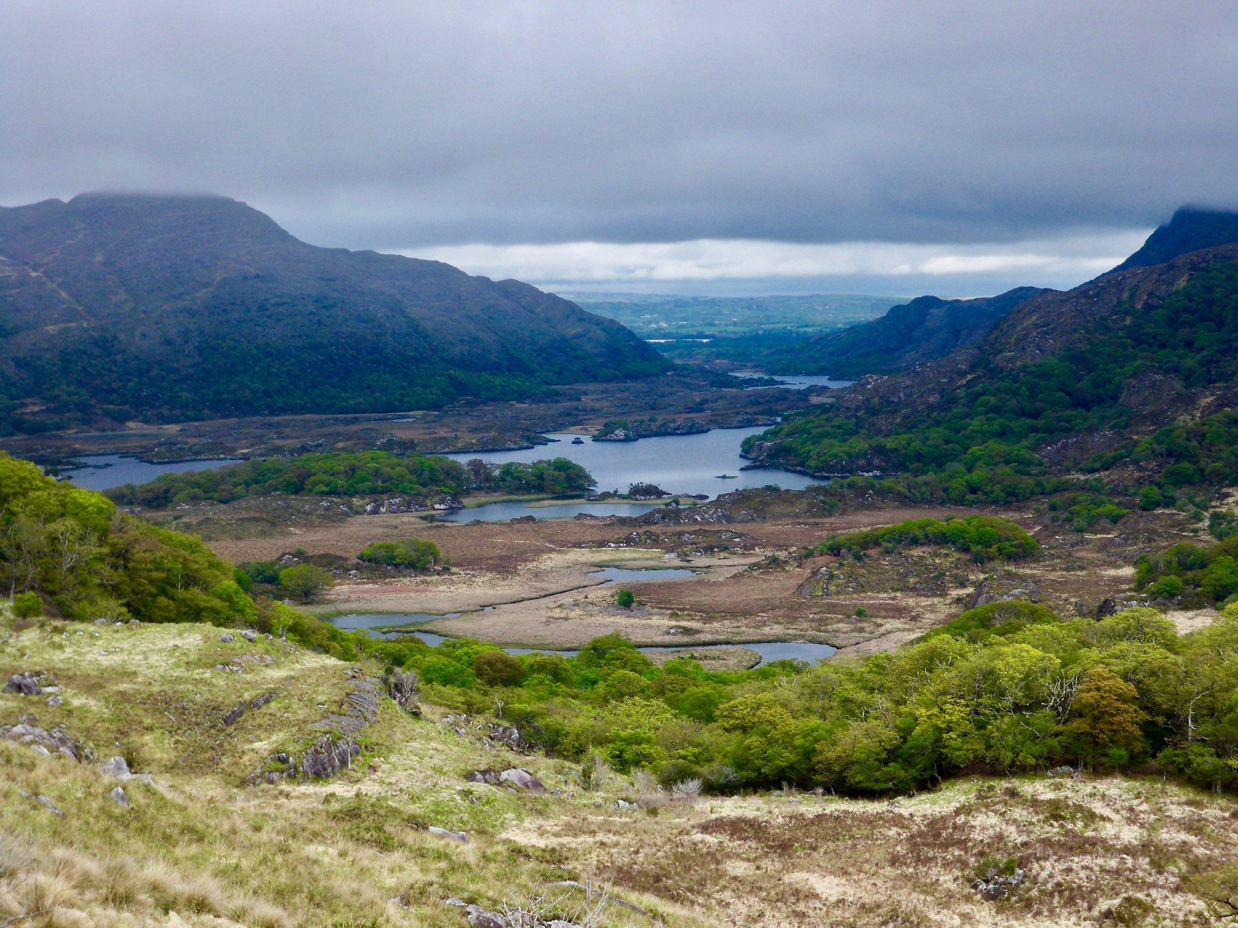 Ladies View, Killarney National Park ~ Ireland