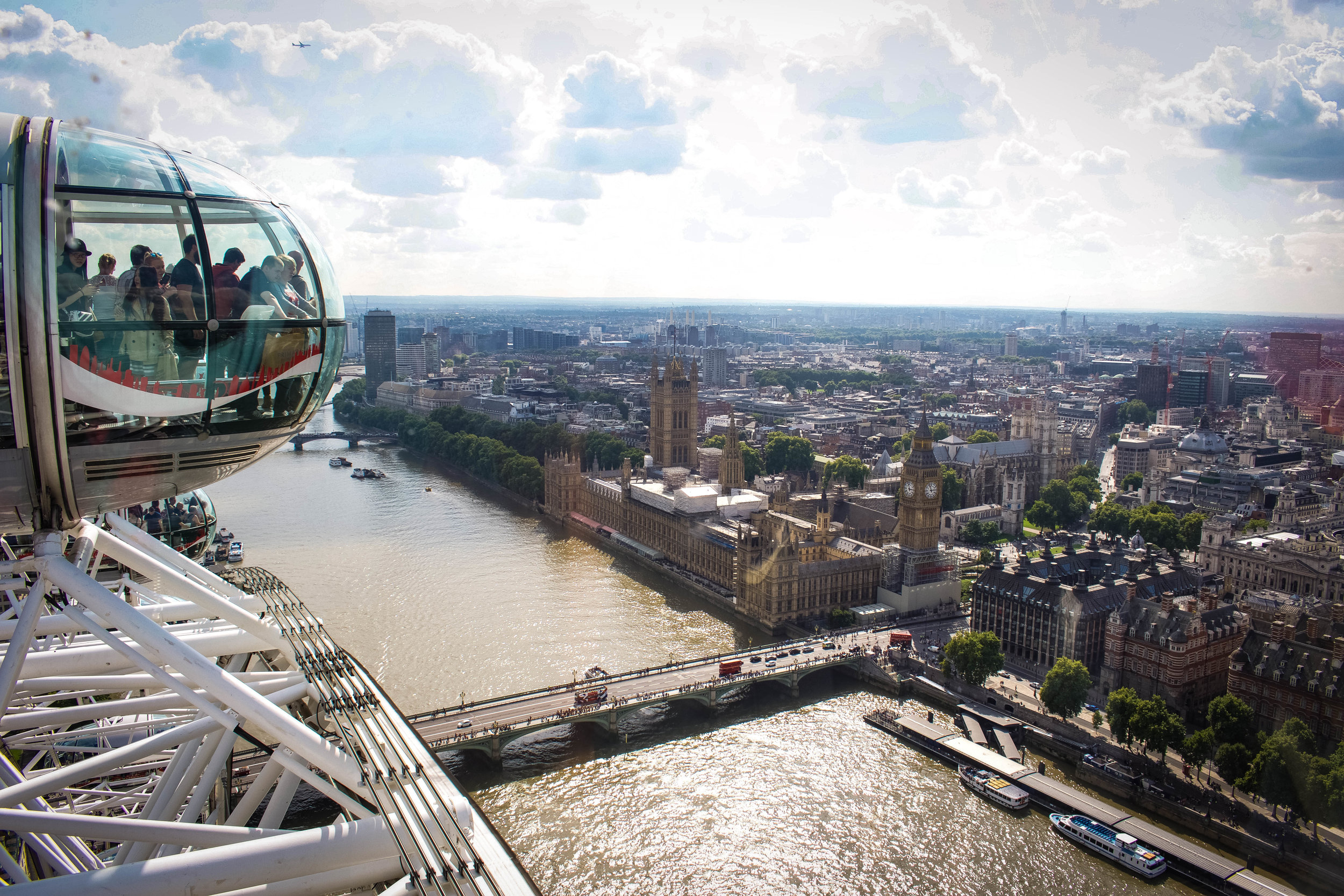 4. The London Eye - *Try the Champagne Experience!