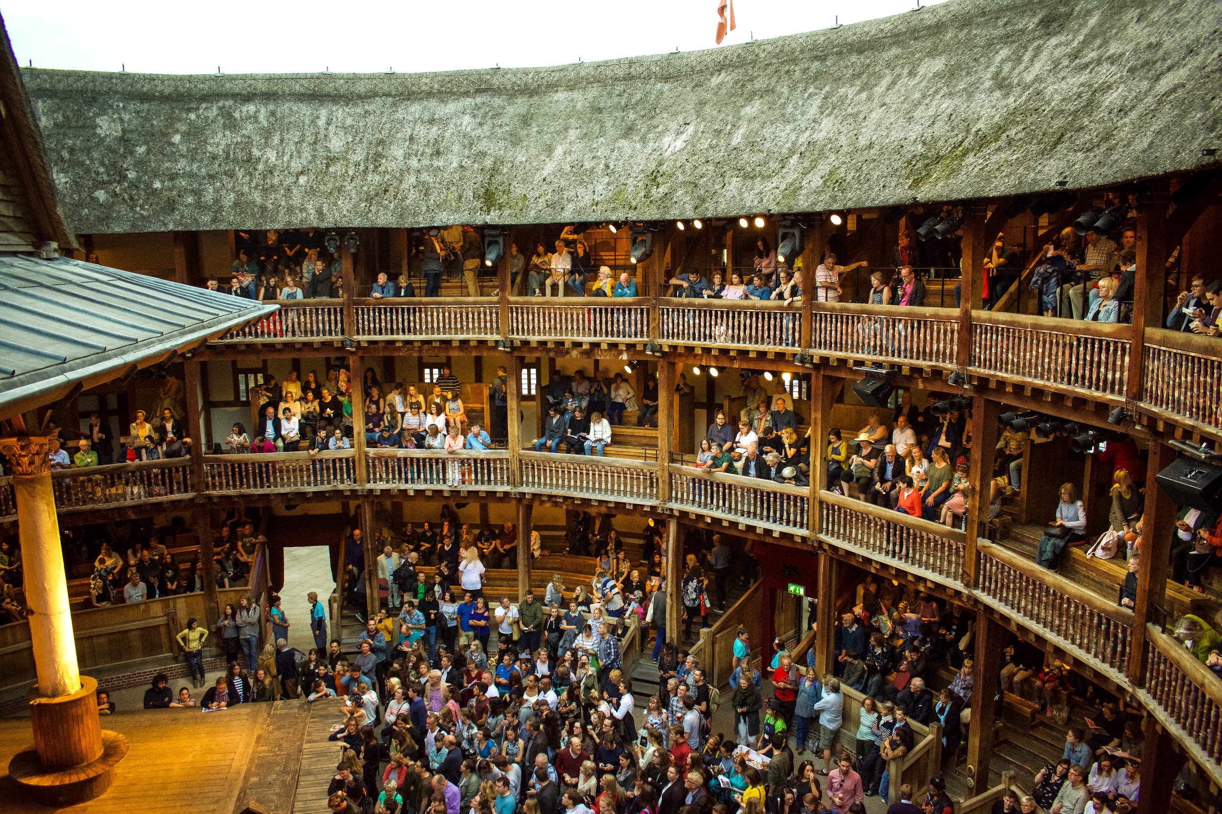 5. Shakespeare's Globe Theatre - *See a Shakespearean Play Here!