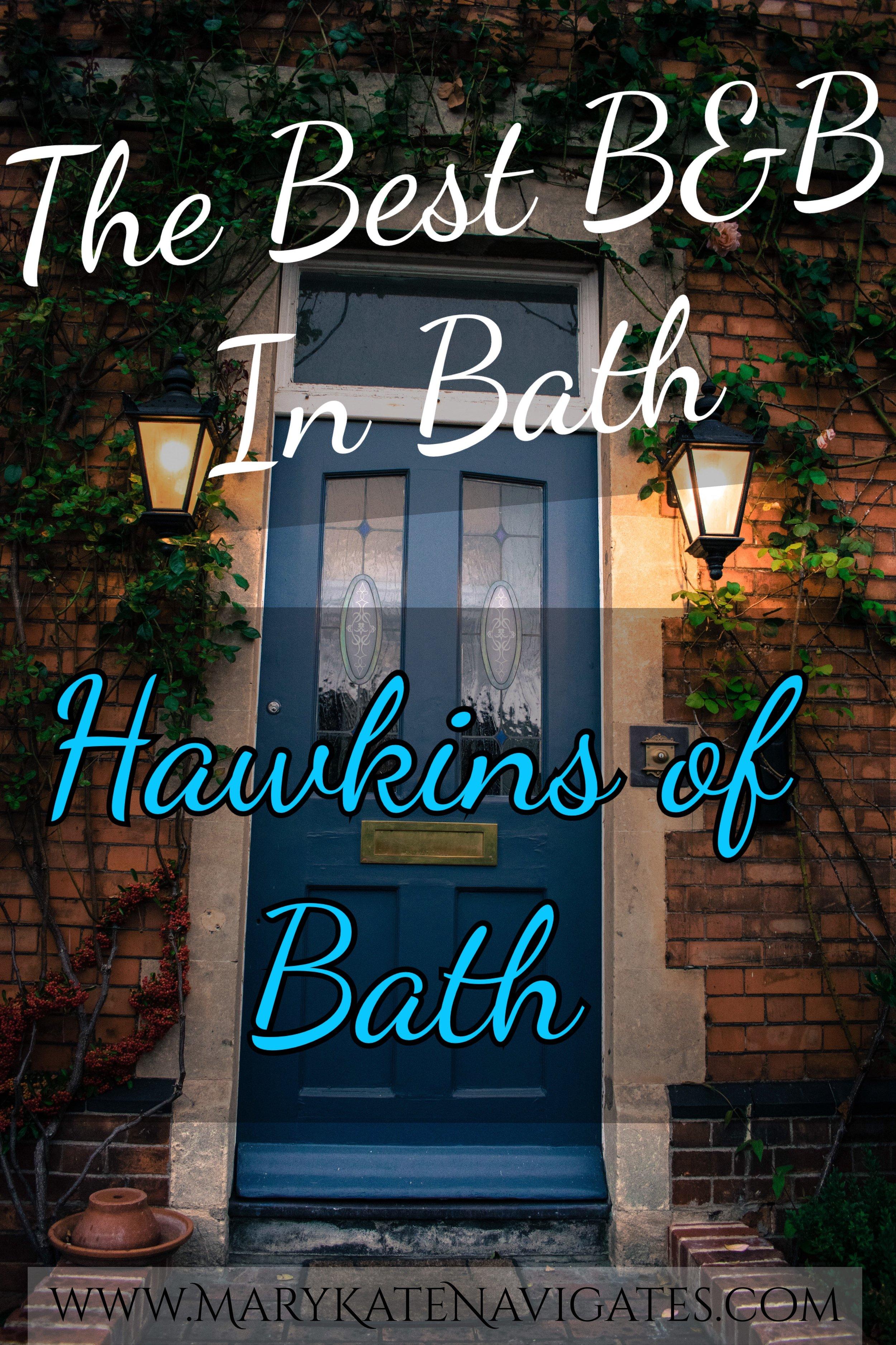 The Best B&B in Bath - Hawkins of Bath