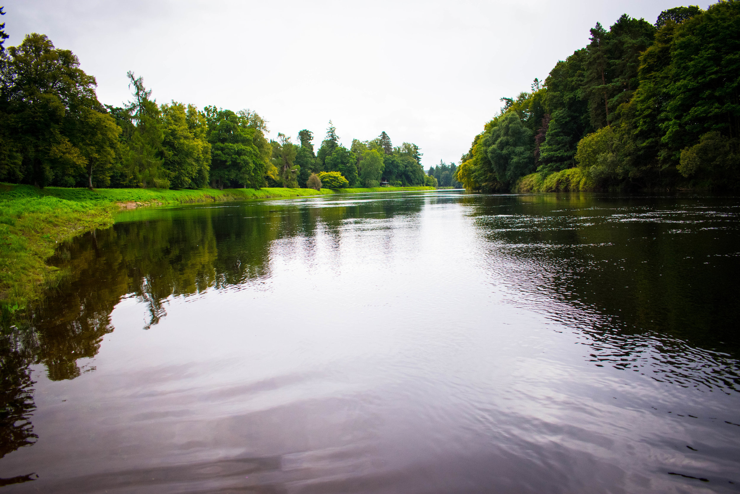Salmon Fishing on the River Tay ~ Meikleour Arms