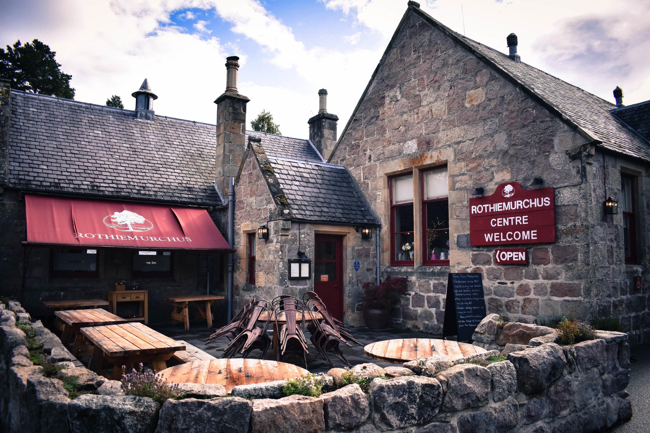 The Druie Cafe Restaurant, Aviemore, Scotland