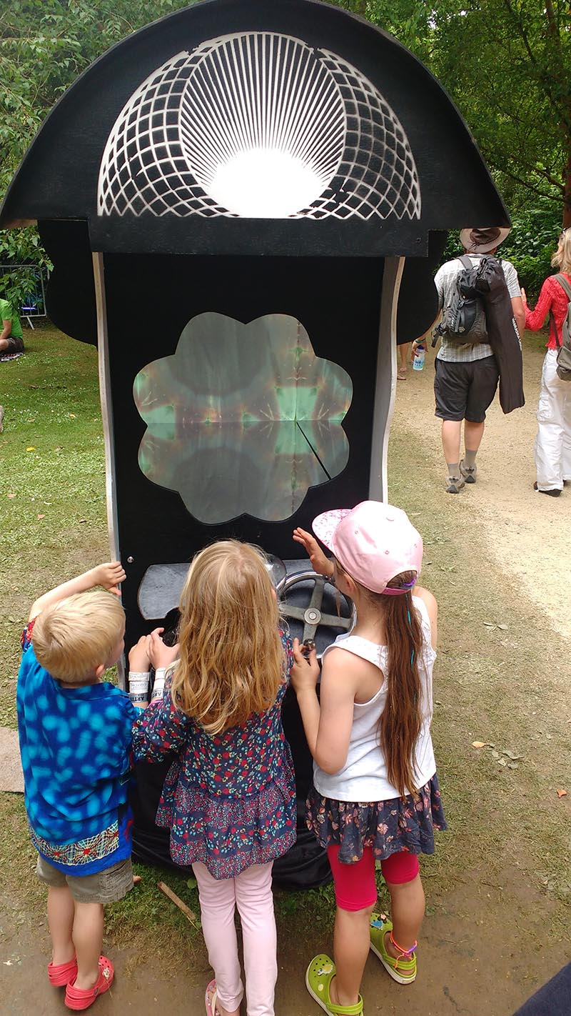 Family Friendly Kid Friendly Interactive Outdoor Installation