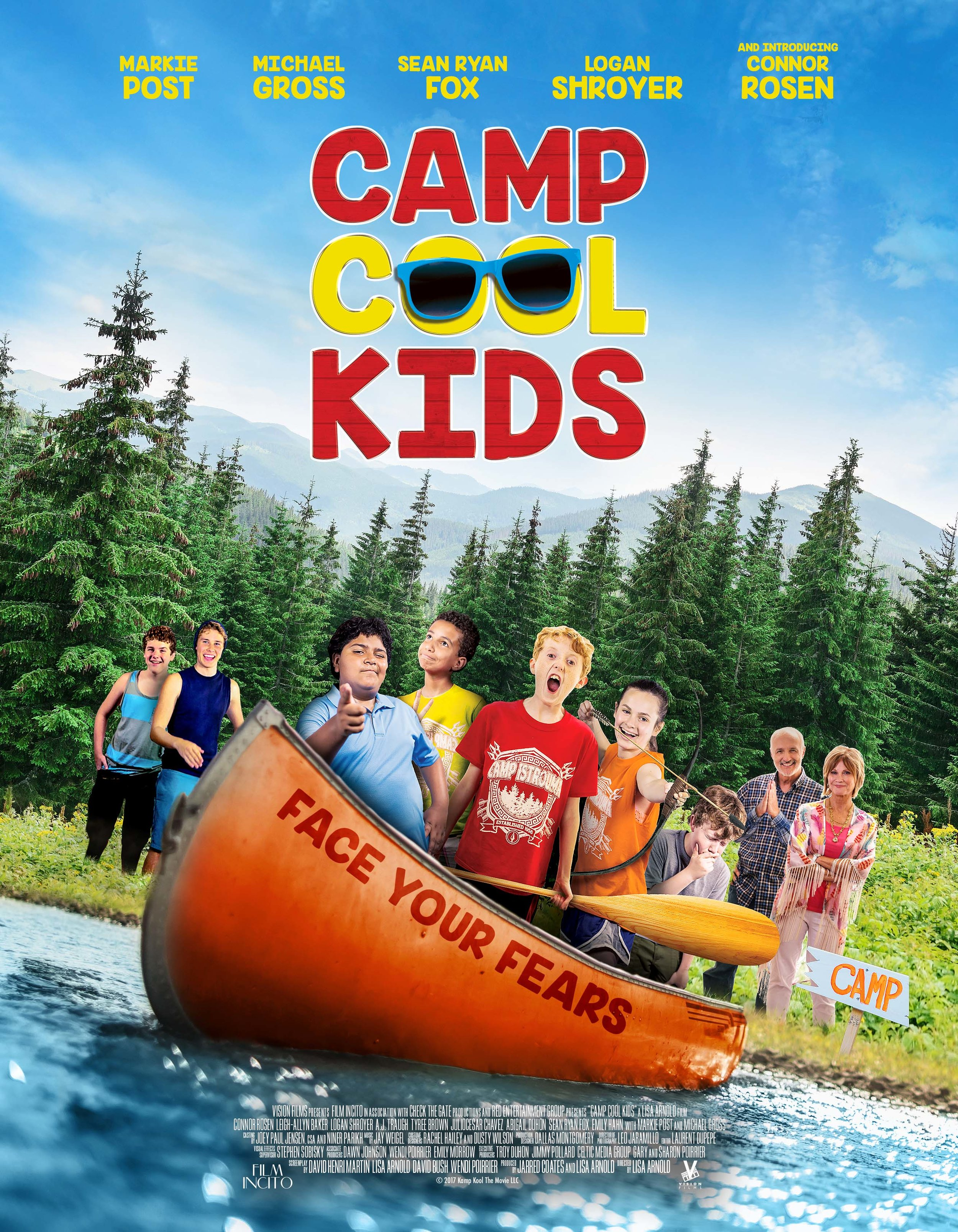 Watch on VOD and then buy your DVD below!    -  Please write great reviews of the film where you watch and buy your version of Camp Cool Kids!