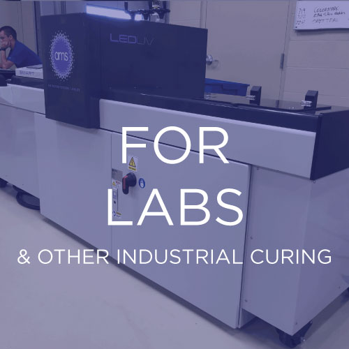 We supply labs around the world:   We work with ink companies, coating formulators and other chemistry-based labs to provide curing equipment that is reliable and tailored to each specific application.