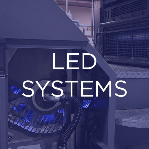 State-of-the-art LED-UV modules:   AMS Spectral UV manufactures LED-UV curing modules that connect to our power and control systems. Learn more about our specific module designs here.