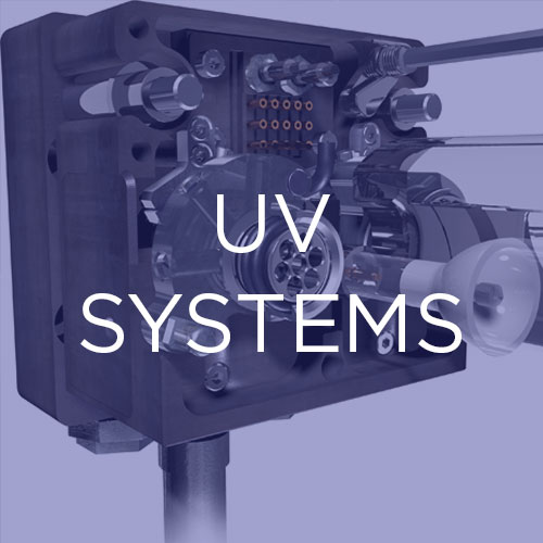 Reliable UV curing setups:   For those seeking a conventional UV curing solution for printing or another application, our systems are rugged, reliable and energy efficient.