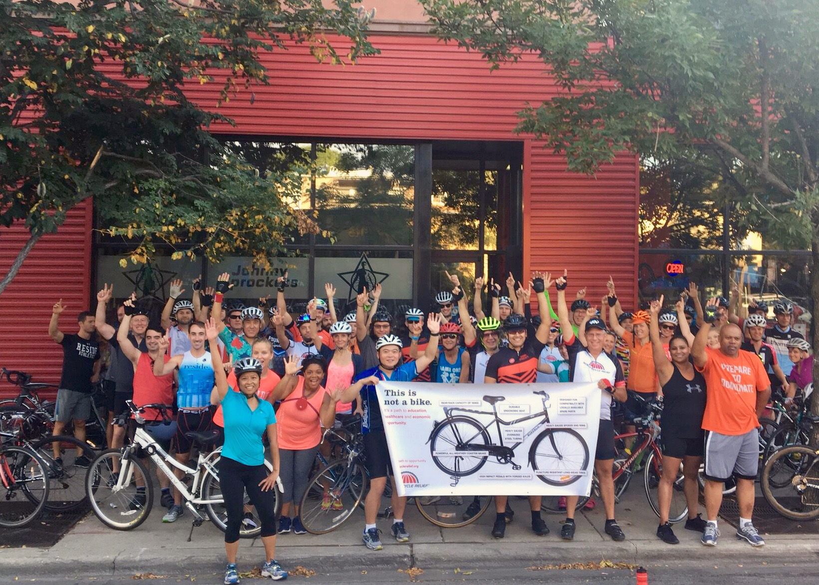 MORNING GROUP RIDEs -Johnny Sprocketsheritage Bikesadventure cycling tours - SATURDAY, SEPTEMBER 15 2018