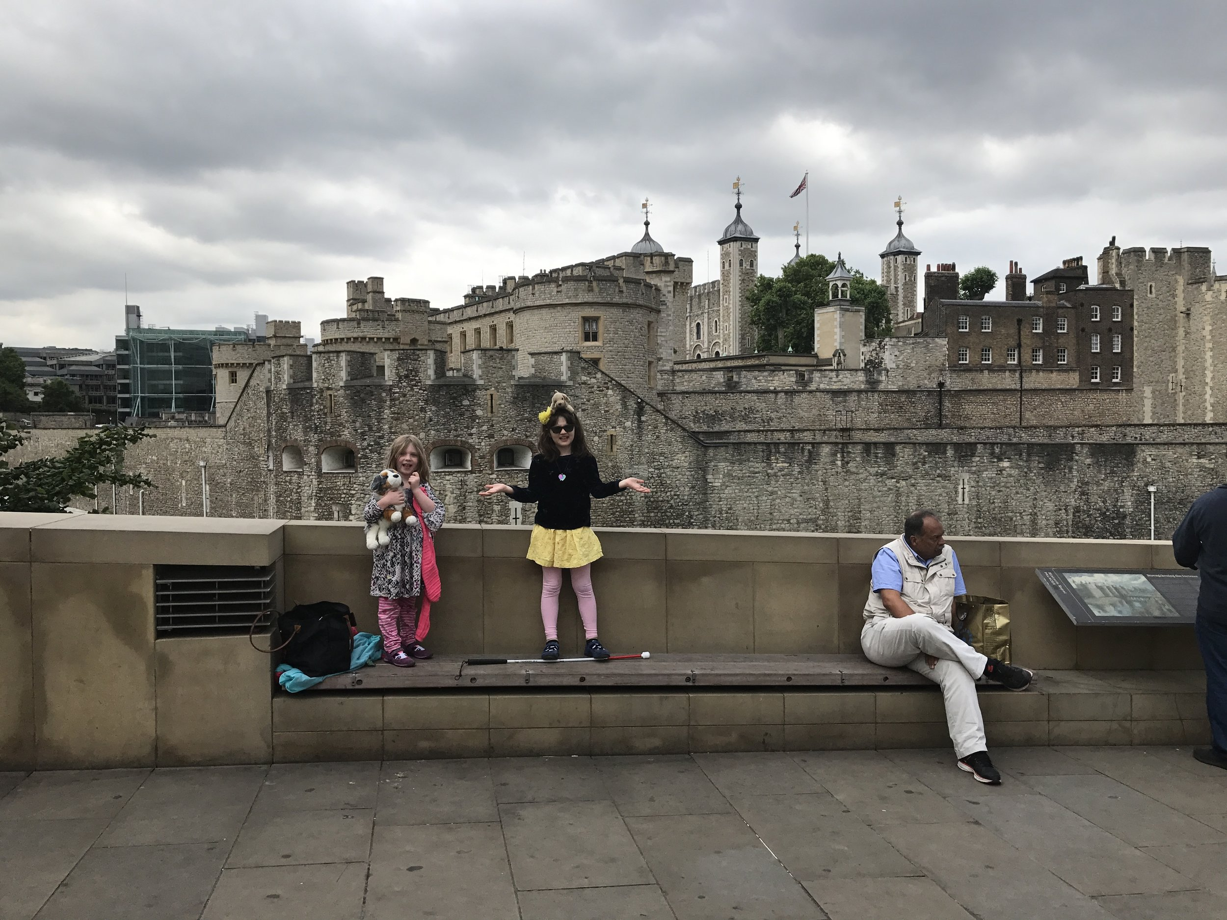 Not quite a visit to the Tower of London