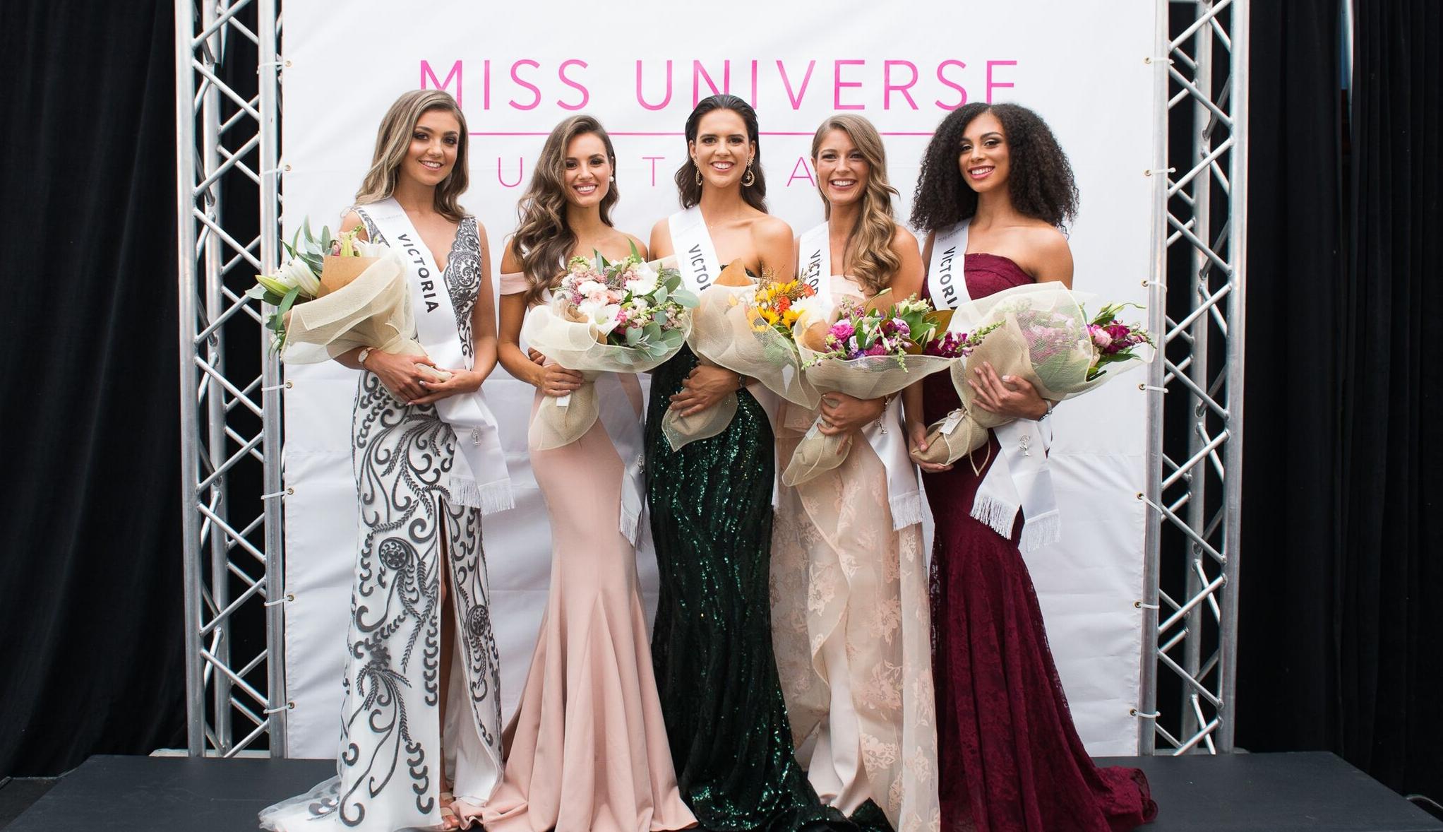 miss universe australia - Victoria Finalists 2017