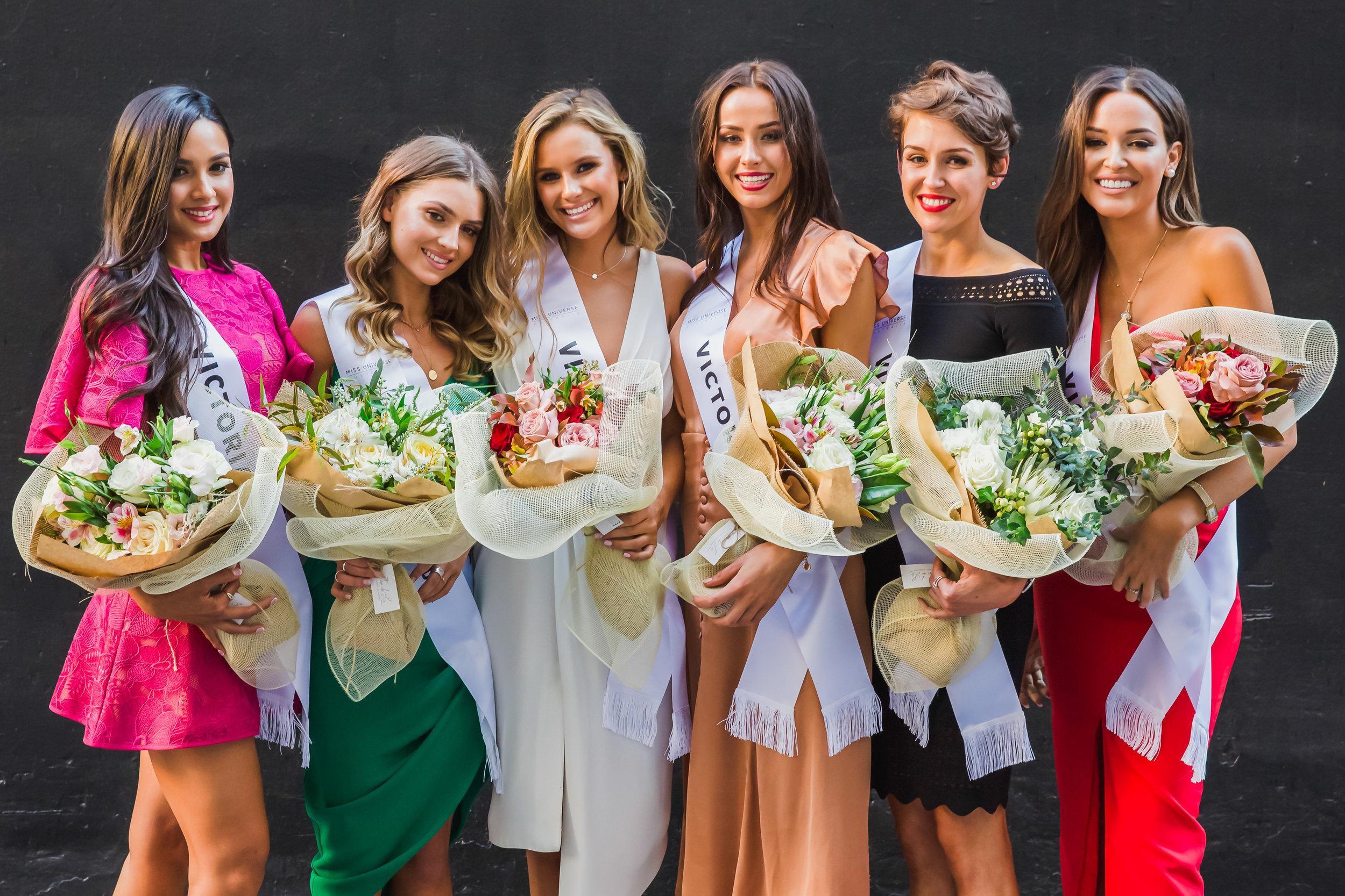 Miss Universe Australia - Victoria Finalists 2018