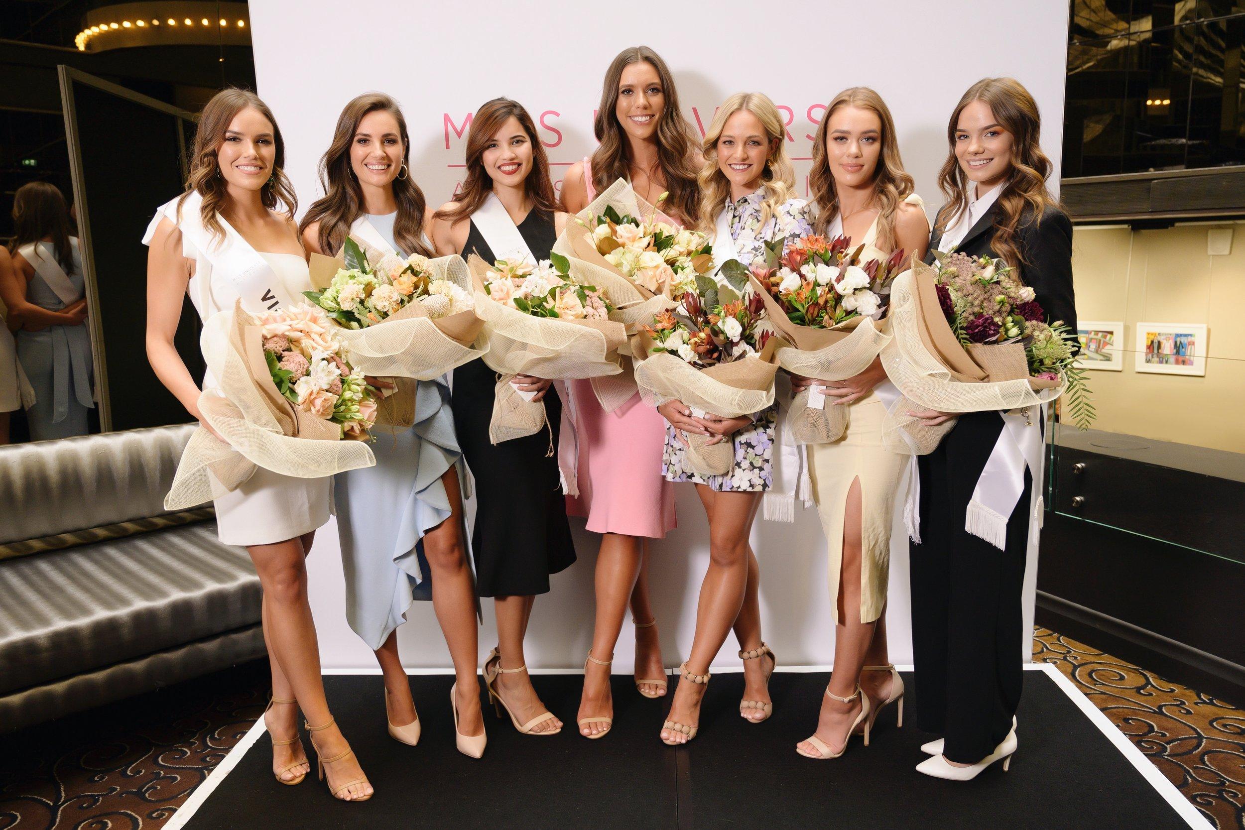 Miss Universe Australia 2019 - Victoria Finalists 2019