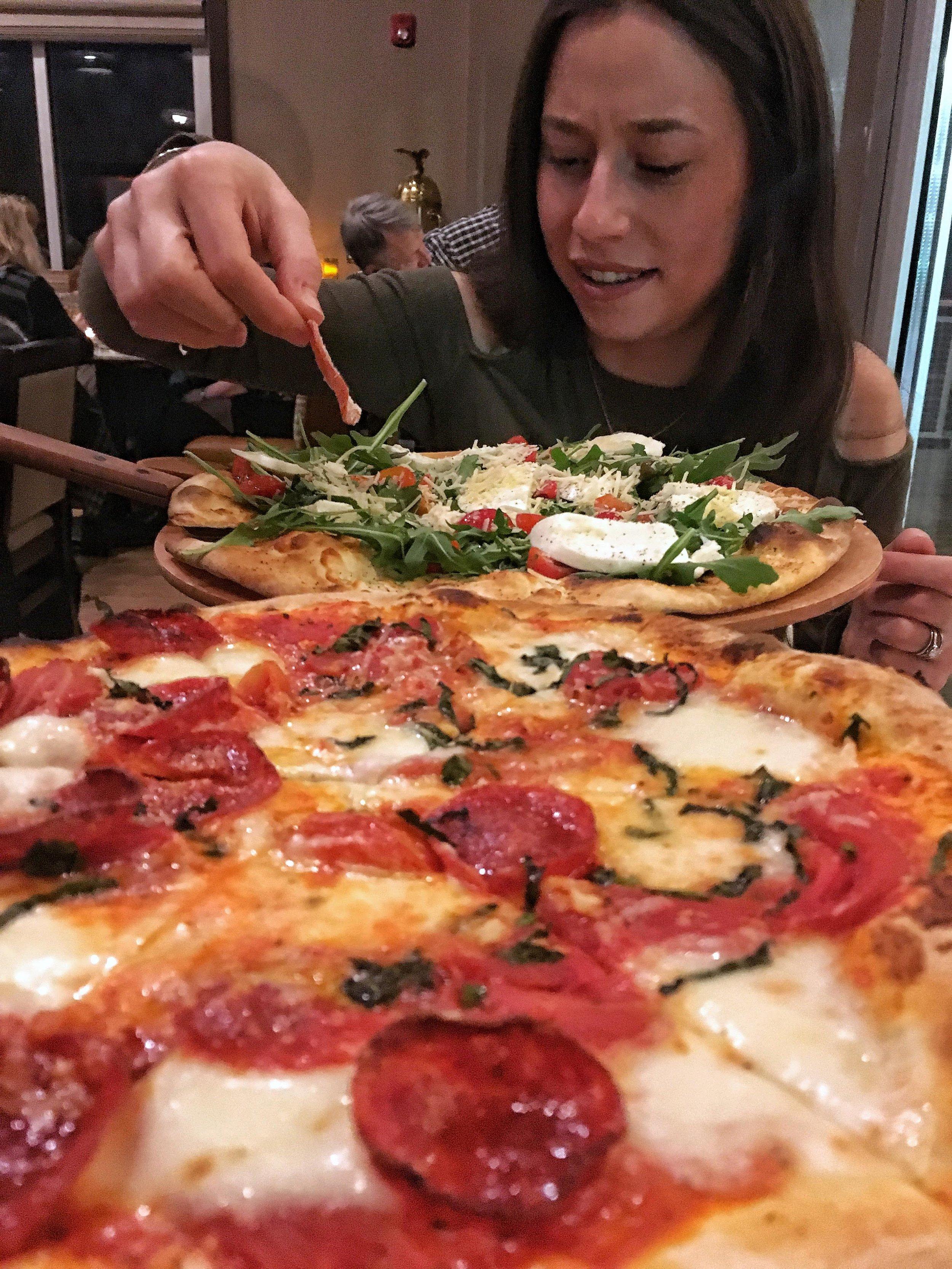Pizza from Arpeggio BYOB