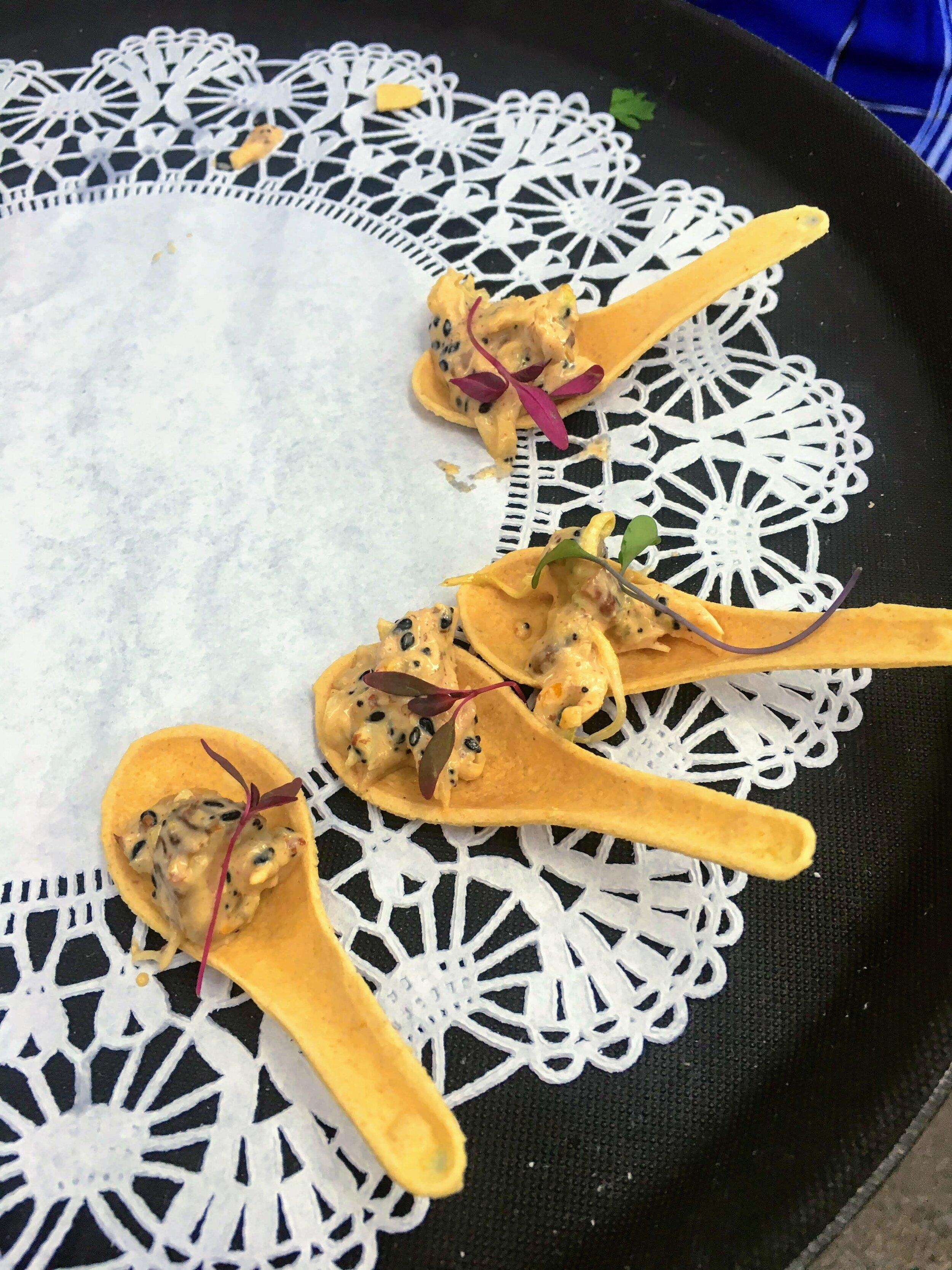 Edible Tasting Spoons pt. 2